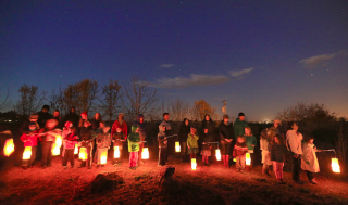 Lantern Walk at SunRidge Charter School